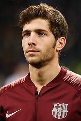 November 6, 2018 - Milan, Italy - Sergi Roberto of Barcelona during the Group B match of the UEFA Champions League between FC Internazionale and FC Barcelona on November 6, 2018 at San Siro Stadium in Milan, Italy. (Credit Image: © Mike Kireev/NurPhoto via ZUMA Press)