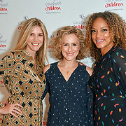 Lisa Faulkner, Nicola Stephenson and Angela Griffin attends the Children's charity hosts fashion and beauty lunch event, with live entertainment at The Dorchester, London, UK. 12 October 2018.