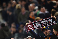 AS Roma fans hold a shirt and a banner for Francesco Totti. Tifosi con maglia e cartelli per Totti <br /> Io Sto con Totti. I am for Totti <br /> Roma 21-02-2016 Stadio Olimpico, Football Calcio Serie A 2015/2016 AS Roma - Palermo.  Foto Andrea Staccioli / Insidefoto
