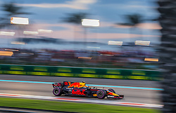 November 26, 2017 - Abu Dhabi, United Arab Emirates - Daniel Ricciardo of Australia and Red Bull Racing Team driver goes during the race at Formula One Etihad Airways Abu Dhabi Grand Prix on Nov 26, 2017 in Yas Marina Circuit, Abu Dhabi, UAE. (Credit Image: © Robert Szaniszlo/NurPhoto via ZUMA Press)