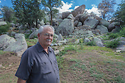 Doug Camblin, the current owner, at Carraro's Grotto in Yarnell, Arizona.