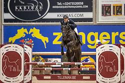 Mendoca Dias Roberto, BRA, Burberry DK T&L Z<br /> Pavo Hengsten competitie - Oudsbergen 2021<br /> © Hippo Foto - Dirk Caremans<br />  22/02/2021