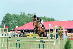 Coumans Gabriel-Okido<br />KWPN Paardendagen 2001<br />Photo © Dirk Caremans