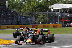 June 9, 2019 - Montreal, Canada - xa9; Photo4 / LaPresse.09/06/2019 Montreal, Canada.Sport .Grand Prix Formula One Canada 2019.In the pic: Max Verstappen (NED) Red Bull Racing RB15 (Credit Image: © Photo4/Lapresse via ZUMA Press)