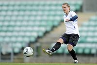 Fotball<br /> Norge<br /> 04.05.2011<br /> Foto: Morten Olsen, Digitalsport<br /> <br /> Trening Norge A kvinner<br /> Nadderud Stadion<br /> Internkamp - Norge Blå mot Norge Hvit<br /> <br /> Trine Rønning