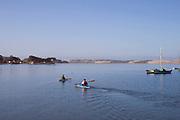 Kayaking in Morro Bay, Los Osos, Baywood Park, San Luis Obispo County, California, USA