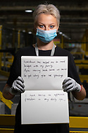 Izzie has worked at Amazon for 2 weeks. She is from Bolton