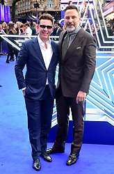 Nick Candy and David Walliams attending the Rocketman UK Premiere, at the Odeon Luxe, Leicester Square, London.