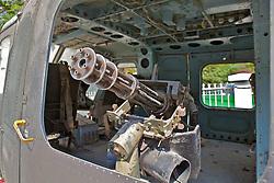 UH-1H Huey Machine Gun Turret At War Museum