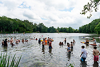 Wild Swimming  at the Also Festival 2021 at Cpmton Verney,photo by Mark Anton Smith<br /> .