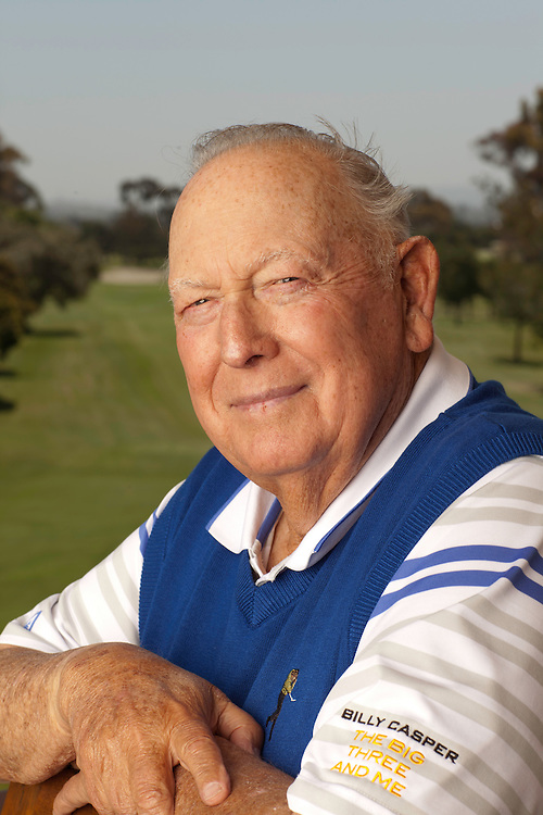 CHULA VISTA, CA - MAY 11: Billy Casper poses for a portrait at the San Diego Country Club in Chula Vista, California on May 11, 2012. © 2012 Darren Carroll