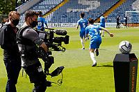 TV. Stockport County FC 2-2 Torquay United FC. Vanarama National League. Edgeley Park. 16.5.21