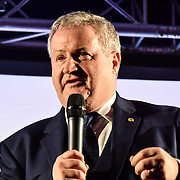 Ian Blackford, attends People's vote to Stop Brexit rally due to Brexit vote in Parliament on 15 January 2019, London, UK