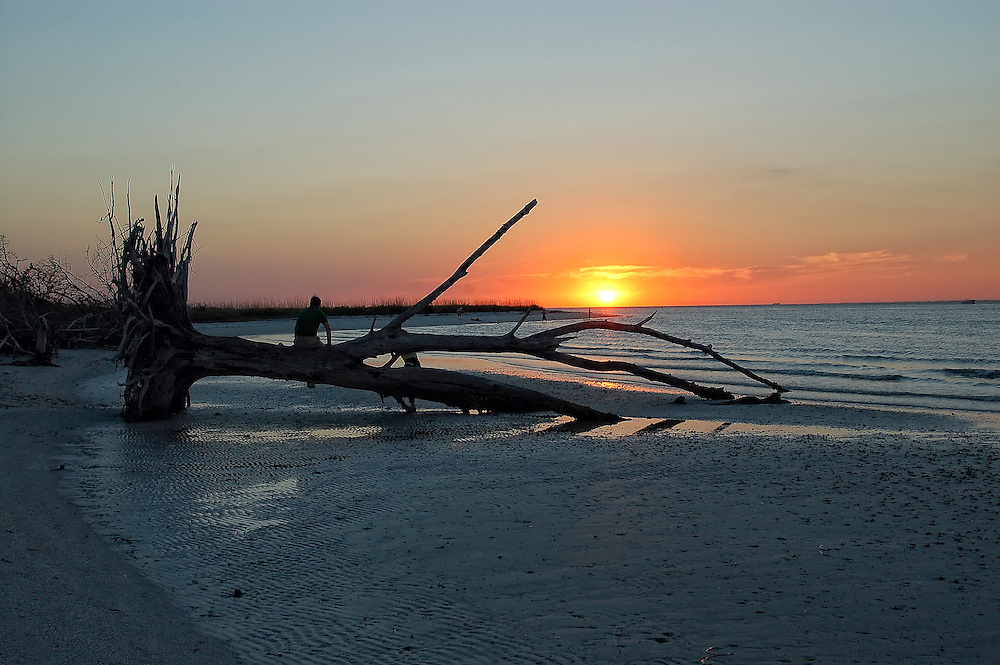 Sunset on Lover's Key in Lee County, Florida. Beautiful!