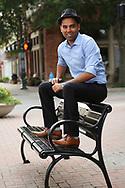 Syed Ali Raza in McKinney, Texas on Sunday, July 9, 2017. (Photo by Kevin Bartram)