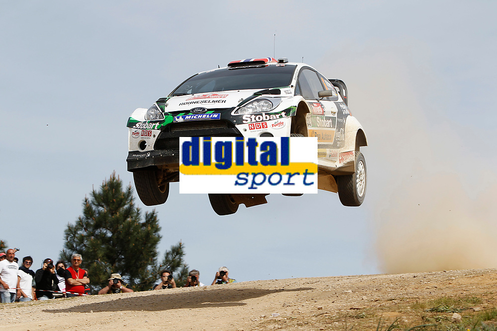 MOTORSPORT - WRC 2011 - RALLYE ITALIA SARDEGNA - OLBIA (ITA) - 05/05 TO 08/05/2011 - PHOTO : FRANCOIS BAUDIN / DPPI 06 MADS OSTBERG (NOR) / JONAS ANDERSSON (SWE) - FORD FIESTA RS WRC - M-SPORT STOBART FORD WORLD RALLY TEAM - ACTION
