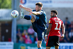 Ollie Clarke of Bristol Rovers takes on Bruno Andrade of Lincoln City - Mandatory by-line: Robbie Stephenson/JMP - 14/09/2019 - FOOTBALL - Sincil Bank Stadium - Lincoln, England - Lincoln City v Bristol Rovers - Sky Bet League One