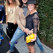 NLD/Amsterdam/20110825 - Uitreiking Jackie's Best Dressed List 2011, Thijs Willekes en Saar Koningsberger