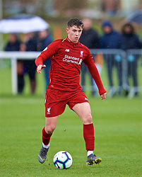 DERBY, ENGLAND - Friday, March 8, 2019: Liverpool's Ben Woodburn during the FA Premier League 2 Division 1 match between Derby County FC Under-23's and Liverpool FC Under-23's at the Derby County FC Training Centre. (Pic by David Rawcliffe/Propaganda)