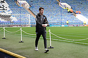 John Marquis (10) of Portsmouth arrives ahead of the EFL Sky Bet League 1 match between Portsmouth and Ipswich Town at Fratton Park, Portsmouth, England on 21 December 2019.