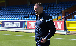 Bristol Rovers manager Graham Coughlan arriving at the stadium - Mandatory by-line: Arron Gent/JMP - 21/09/2019 - FOOTBALL - Cherry Red Records Stadium - Kingston upon Thames, England - AFC Wimbledon v Bristol Rovers - Sky Bet League One