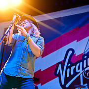 """COLUMBIA, MD - October 6th, 2012 - Allen Stone performs at the 2012 Virgin Mobile FreeFest in Columbia, MD. His set consisted of original material and a cover of Bob Marley's """"Is This Love.""""  (Photo by Kyle Gustafson / For The Washington Post)"""