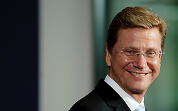 German Foreign Minister Guido Westerwelle arrives for a family photo during an European Union leaders summit in Brussels, Belgium on 2010-09-16. EXPA Pictures © 2016, PhotoCredit: EXPA/ Photoshot/ Wiktor Dabkowski<br /> <br /> *****ATTENTION - for AUT, SLO, CRO, SRB, BIH, MAZ, SUI only*****