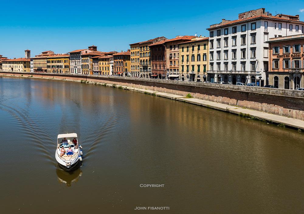 Arno River, Pisa, Italy