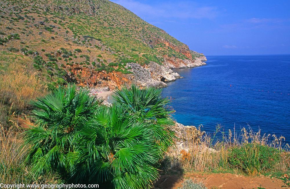Zingaro nature reserve, Scopello, Trapani province, Sicily, Italy