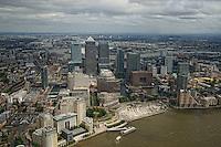 London - Aerial View, Canary Wharf