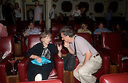 Betsy Blair and Stephen Frears. Johnny Lee Miller Hosts a Grand Classics screening of 'Singing In the Rain. the Electric Cinema. 111 July 2005. ONE TIME USE ONLY - DO NOT ARCHIVE  © Copyright Photograph by Dafydd Jones 66 Stockwell Park Rd. London SW9 0DA Tel 020 7733 0108 www.dafjones.com