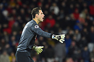 Asmir Begovic (27) of AFC Bournemouth during the Premier League match between Bournemouth and Huddersfield Town at the Vitality Stadium, Bournemouth, England on 4 December 2018.