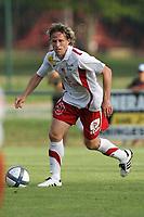 FOOTBALL - FRIENDLY GAMES 2010/2011 - STADE BRESTOIS v FC ISTRES - 09/07/2010 - PHOTO ERIC BRETAGNON / DPPI - MARIO LICKA (BREST)