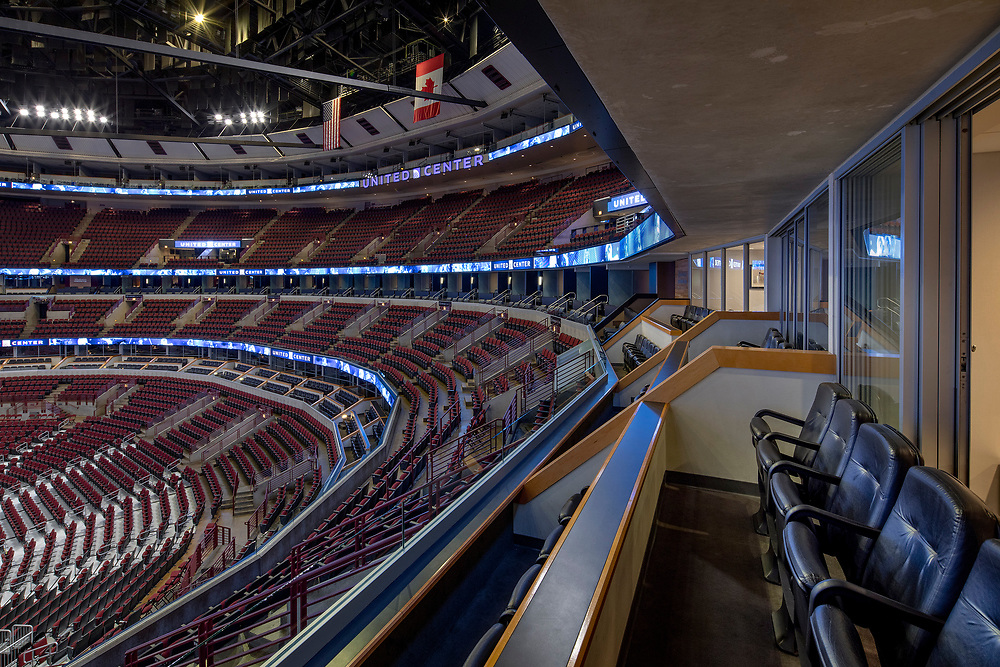 Chicago Bulls & Blackhawks   Chicago, IL