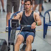 Hugues Boisvert MALE HEAVYWEIGHT U23 2K Race #6  09:45am<br /> <br /> <br /> www.rowingcelebration.com Competing on Concept 2 ergometers at the 2018 NZ Indoor Rowing Championships. Avanti Drome, Cambridge,  Saturday 24 November 2018 © Copyright photo Steve McArthur / @RowingCelebration