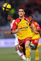 FOOTBALL - FRENCH CHAMPIONSHIP 2010/2011 - L1 - AS NANCY v RC LENS - 29/05/2011 - PHOTO GUILLAUME RAMON / DPPI - <br /> YOHAN DEMONT (LENS)
