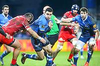 Geoffrey Palis - 28.12.2014 - Castres / Montpellier - 14eme journee de Top 14 <br />Photo :  Laurent Frezouls / Icon Sport