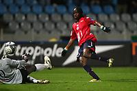 FOOTBALL - FRENCH CHAMPIONSHIP 2009/2010  - L1 - LILLE OSC v VALENCIENNES FC - 28/11/2009 - PHOTO ERIC BRETAGNON / DPPI - GOAL GERVINHO (LOSC)