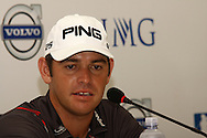 DURBAN - 12 January 2014 - South African golfer Louis Oosthuizen speaks to the media after winning the Volvo Golf Champions that was held at the Durban Country Club. Picture: Allied Picture Press/APP