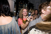 STEPHANIE THEOBALDS;  Launch of Stephanie Theobald's book' A Partial Indulgence'  drinks provided by Ruinart champage nd Snow Queen vodka. The Artesian at the Langham, 1c Portland Place, Regent Street, London W1