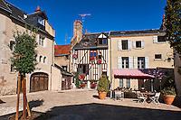 France, Region Centre-Val de Loire, Loiret (45), Orléans, venelle Saint Pierre Empont // France, Loiret, Orleans, Saint Pierre Empont street
