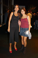 YASMIN MILLS and her daughter LAUREN MILLS at a party hosted by retail property group Westfield at the Natural History Museum, Cromwell Road, London SW7 on 17th September 2006.<br /><br />NON EXCLUSIVE - WORLD RIGHTS