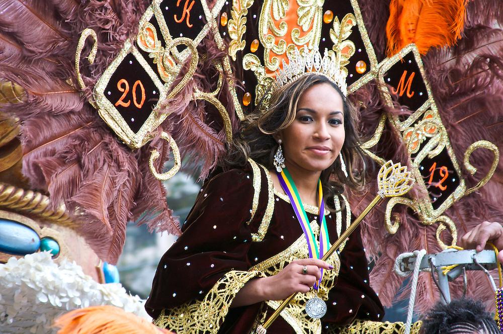Krewe of NOMTOC Parade, Mardi Gras, New Orleans, LA