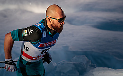 27.01.2018, Seefeld, AUT, FIS Weltcup Langlauf, Seefeld, FIS Weltcup Langlauf, Sprint Herren, im Bild Baptiste Gros (FRA) // Baptiste Gros of France during men's sprint of the FIS cross country world cup in Seefeld, Austria on 2018/01/27. EXPA Pictures © 2018, PhotoCredit: EXPA/ JFK