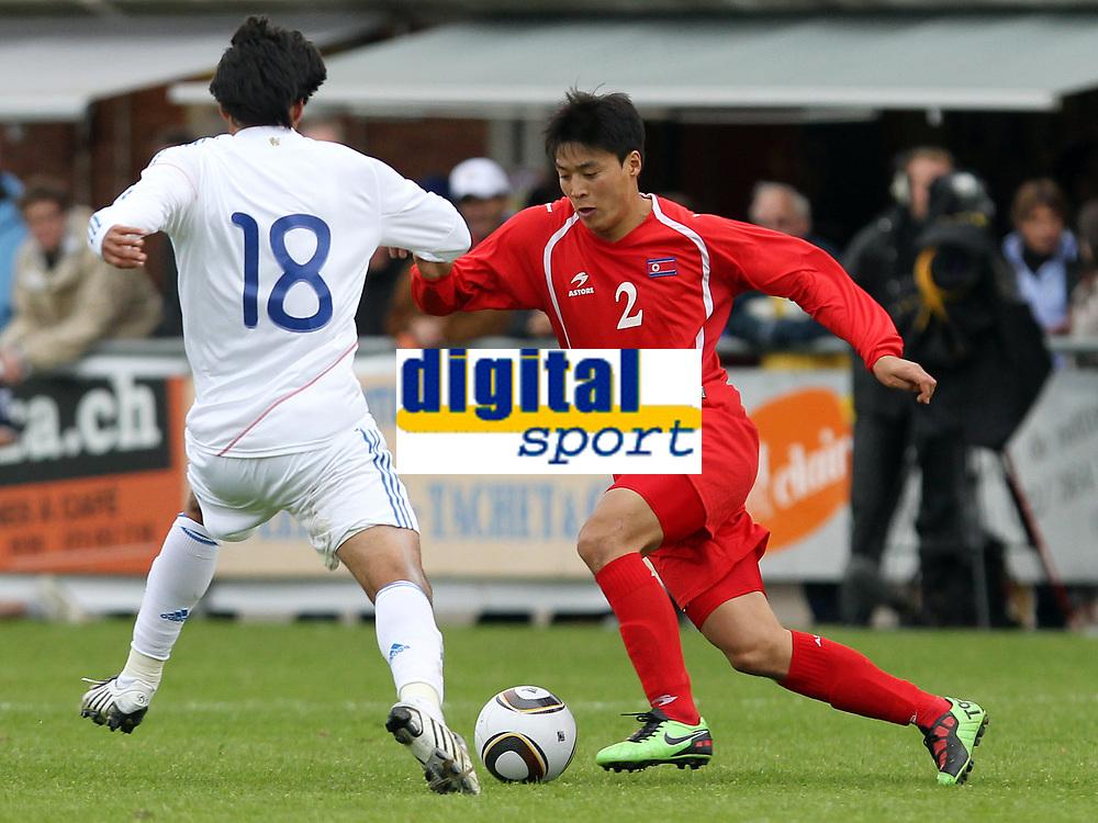 Marcelo Estigarribia (PAR) gegen Jong Hyok Cha (PRK) © Pascal Muller/EQ Images