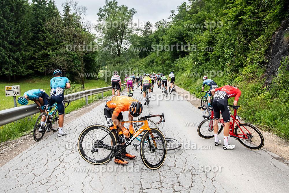 Julen IRIZAR LASKURAIN of EUSKALTEL - EUSKADI during 2nd Stage of 27th Tour of Slovenia 2021 cycling race between Zalec and Celje (147 km), on June 10, 2021 in Zalec - Celje, Zalec - Celje, Slovenia. Photo by Vid Ponikvar / Sportida