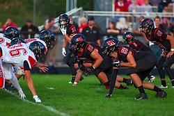 13 September 2019: Gibson City Melvin Sibley (GCMS) Falcons at Heyworth boys HOIC (Heart of Illinois Conference) football, Heyworth Illinois