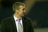 Jim Gannon. Stockport County FC 1-0 Port Vale FC. Johnstones Paint Trophy. Edgeley Park. 2.9.08
