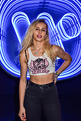 Alice Dellal at the Warner Music & Ciroc Brit Awards party, Freemasons Hall, 60 Great Queen Street, London England. 22 February 2017.