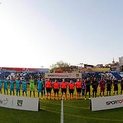Kasimpasa SK's and Besiktas's players during their Turkish Superleague soccer match Kasimpasa SK between Besiktas at the Recep Tayyip Erdogan stadium in Istanbul Turkey on Saturday 18 April 2015. Photo by Aykut AKICI/TURKPIX